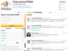 Twitter dels Telecentres de Tarragona