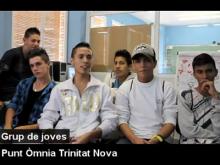 Joves de l'Òmnia Trinitat Nova - Part del vídeo dels Òmnia de Barcelona