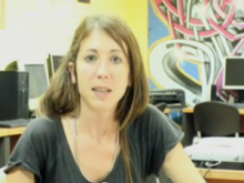 Fotograma del vídeo sobre el treball amb joves al Teb