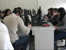 Imatge dels alumnes de la Casa d'Oficis de Sant Feliu Online