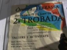 Imatge del cartell de la 2a Trobada d'Òmnia a Terrassa