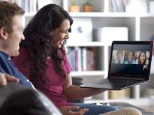 Videotrucades grupals amb Skype