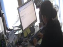Imatge d'un despatx del viver d'empreses de Les Preses