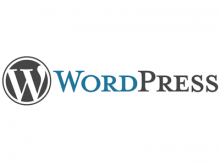 Logotip de WordPress