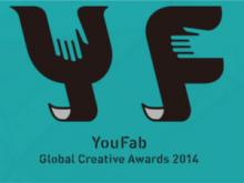 Logotip de YouFab, premis internacionals de fabricació digital