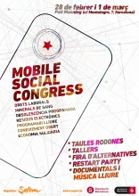 Cartell del Mobile Social Congress 2017