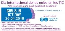 """Girls in ICT Day a l'EPSEM: """"Un futur per a una nova generació de dones"""""""