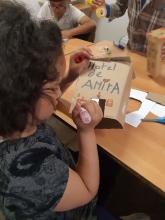 Taller d'iniciació a la robòtica educativa a la Fundació Akwaba