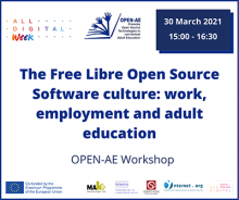 An event on open source free software culture