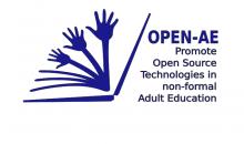 Logotip del projecte 'Open AE'