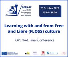 Conferència final del projecte europeu Open-AE de programari lliure