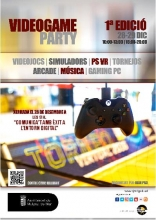 1a edición de Videogame party en Malgrat de Mar