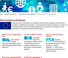 """Portal """"Fons Europeus a Catalunya"""""""