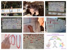 25N a l'Òmnia Sant Roc. Dia per a l'Eliminació de la Violència vers les dones a Badalona