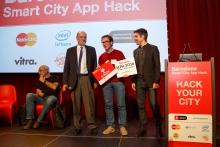 Guanyadors de la Barcelona Smart City App Hack