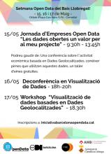 Programa de la Semana Open Data del Baix Llobregat 2018