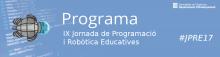Jornada Programa: IX Jornada de Programació i Robòtica Educatives