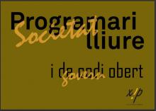 Portada del llibre: Programari lliure i de codi obert