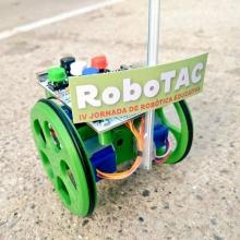 Un robot de la IV edició de RoboTAC