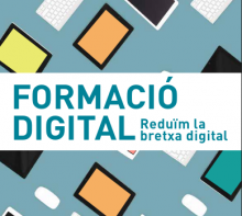 Digital courses in Punt TIC Biblioteca Roca Umbert