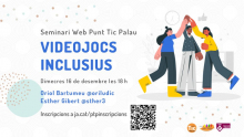 Seminari web: Videojocs inclusius