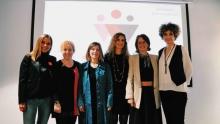 Grup de dones que va donar a conèixer la plataforma Sheleader