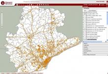 Mapa de Barcelona amb SITMUN