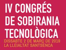 IV Congrés de Sobirania Tecnològica