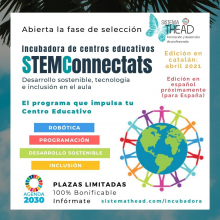 Imagen del proyecto STEMConnectats de la entidad social Sistema THEAD