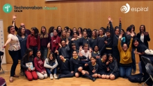 Technovation Spain group photo