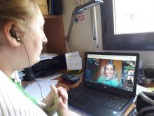 Equips de nenes i mentores de la Technovation Girls Catalonia segueixen treballant de manera virtual