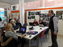 Participants del Punt TIC-Aula Pasqual Ollé