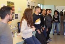 Persones dinamitzadores a la trobada territorial de Ripoll