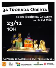 3a trobada oberta (sobre robòtica) creativa