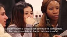 Fotograma del vídeo sobre la Xarxa Òmnia