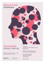 Cartell de la Viquimarató Dones i Ciència UPF