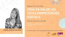 Webinar: Posa en valor les teves competències digitals