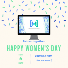 Women Techmakers Barcelona organitza el International Women's Day