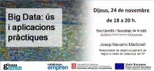 Charla sobre Big Data, en el ciclo de nuevas tendencias y empresa de Girona Emprèn