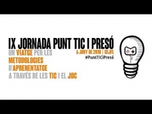 Embedded thumbnail for Video of the IX Jornada Punt TIC i Presó!