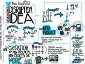 Il·lustració sobre innovació disruptiva. Imatge amb llicència CC BY 2.0 de Rebeca Zuñiga (Flickr)
