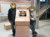 La comissió d`Acció Comunitària construeix una màquina eduRecreativa: Snap!Arcade