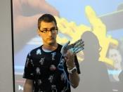 Jordi Rodríguez, dinamitzador de l`Òmnia Campclar, a la Jornada Punt TIC i Presó 2017