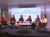 Participants en una de les taules de les IV Jornades de Dones Liderant les TIC