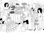 Il·lustració per difondre el taller `Participació política a través d'Internet