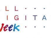 Logotip de l`ALL DIGITAL Week, basat en el logo de la xarxa ALL DIGITAL