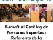 Suma`t al Catàleg de persones expertes i referents de la Xarxa Punt TIC!