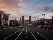 Fotografia de la ciutat de Barcelona, on es celebrarà la