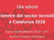 Presentació del Baròmetre del Sector Tecnològic a Catalunya 2018