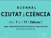 Biennal Ciutat i Ciència del 7 a l`11 de febrer de 2019